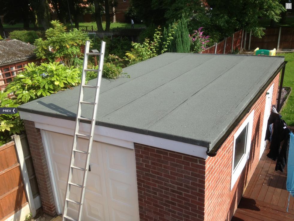 Roof Felt & Timber Work